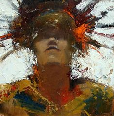 Cathy Hegman painting from Oil & Wax. Excellent info on this site for using cold wax medium, including recipes for making your own.