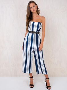db6a6338795 Windows+Down+Strapless+Jumpsuit+-+ Strapless+jumpsuit Padded+bust+