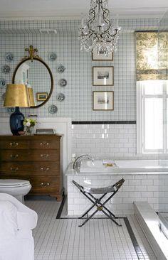 bath - Drop in tub / tile treatment