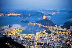 Rio De Jenairo. One of the most beautiful cities.