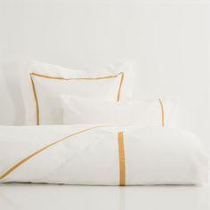 Roupa de Cama Fita Camel #bedroom #bed #sheets #decor