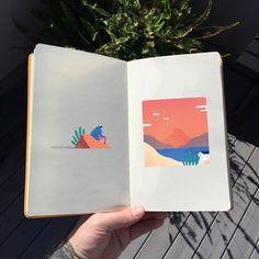 Remote places  . . . . #art #artwork #artist #book #books #creative #creativity #design #happy #graphicdesignblg #graphicdesigncentral #instagood #instalike #instagram #instadaily #illustration #illustrator #illustrationartists #illustree #like #melbourne #markconlan #print #sketch #sketchbook @picame @thedesigntip @instagram