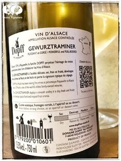 Score 87/100 Wine review, tasting notes, rating of 2015 Dopff au Moulin Gewurztraminer, Alsace. Description of aroma, palate, flavors. Join the experience.