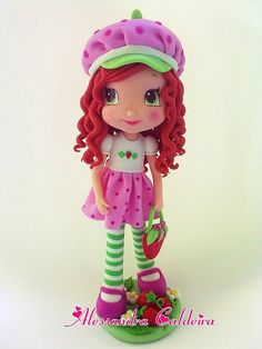 Strange 115 Best Strawberry Shortcake Cakes Images Strawberry Shortcake Funny Birthday Cards Online Elaedamsfinfo