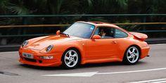 Orange Porsche 993 Turbo #everyday993 #Porsche