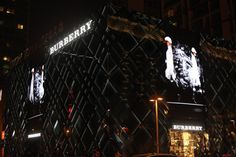 Burberry Sparkle Roll store in Beijing