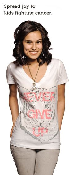 Imagine if your child had cancer? By picking up this cute tee (click on the picture), you are providing a jar full of toys to a child in America that is suffering from this disease. Lets provide these children with the gift of joy!