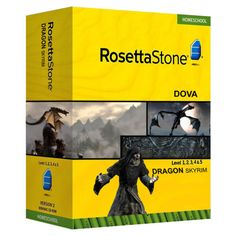 Rosetta Stone: Dova  I seriously want to put this on my shelf, just to see how long until someone notices.... #Skyrim
