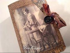 Vintage Sewing Journal Swap - YouTube