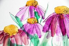 Alisa Burke...love these colors!