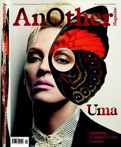 AnOther magazine - Uma Thurman (I adore her)