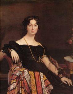 Madame Leblanc - Jean Auguste Dominique Ingres