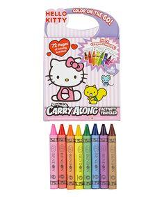 Hello Kitty Imagine Ink Carry Along Crayon Activity Traveler Set 2016