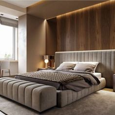 50 Best Bedroom Interior Design Ideas With Luxury Touch. A number of interior designers have had successes from previous designs that capture the plain white room into something that can distract an o. Bedroom Interior Design Images, Master Bedroom Interior, Luxury Bedroom Design, Modern Master Bedroom, Room Design Bedroom, Bedroom Furniture Design, Bedroom Styles, Bedroom Ideas, Modern Bedrooms