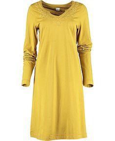 Farb-und Stilberatung mit www.farben-reich.com - Deerberg Shirttunika Malin, messing - Tuniken - Deerberg