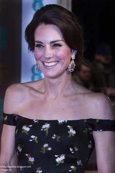 hrhduchesskate: 2017 BAFTA Awards, Royal Albert Hall, February 12, 2017-Duchess of Cambridge