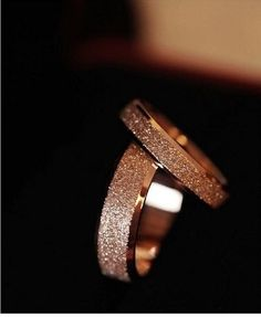 """Miss You"" Ny Same Paragraph Wide Titanium Steel Ring Rose Gold Matte Stainless Steel Men Jewelry Couple Rings Gold Engagement Rings, Designer Engagement Rings, Engagement Jewelry, Wedding Rings For Women, Wedding Ring Bands, Alternative Wedding Rings, Dress Rings, Couple Rings, Gold Rings"