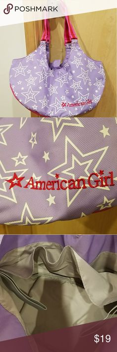 American Girl Doll Carrier American Girl Doll Carrier  Fits two dolls Great condition! Please LMK if you need any more pictures or have any questions!  Make an offer!!!!🖤 American Girl Bags