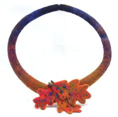Fall Needle Felted Necklace | Flickr - Photo Sharing!