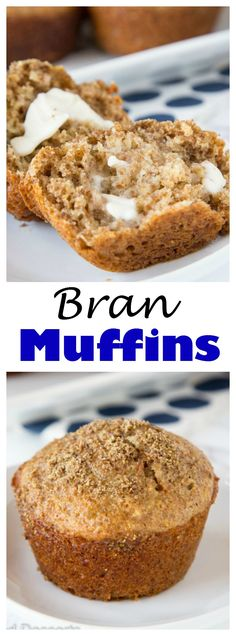 BRAN MUFFIN RECIPE – AN EASY RECIPE FOR BRAN MUFFINS THAT YOU CAN MAKE AHEAD AND HAVE IN THE FRIDGE WHEN YOU WANT TO BAKE THEM! SUPER EASY, AND AMAZING WARM WITH A LITTLE BIT OF BUTTER.