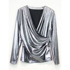 17.76$  Watch here - http://dif88.justgood.pw/go.php?t=207163909 - V Neck Wrap Tee 17.76$