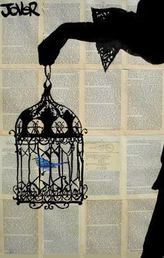 """Saatchi Art Artist: Loui Jover; Pen and Ink 2013 Drawing """"emmeline"""""""