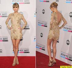 Taylor Swift Dress AMA 2012 - Zuhair Murad