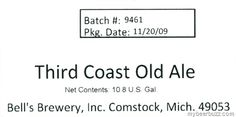 Bell's Brewery - Third Coast Old Ale, Third Coast Beer & More