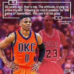 His Airness sees a little of himself in Russell Westbrook.