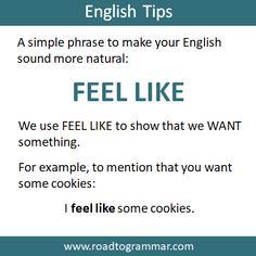Slang English, English Idioms, English Phrases, Learn English Words, English Lessons, English Tips, English Conversation Learning, English Learning Spoken, Teaching English Grammar