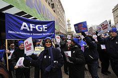 AFGE, one of the many rallies