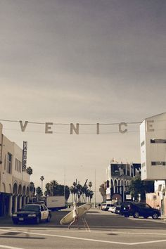If only Venice beach looked like this all the time.
