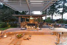- Pergola Bois Bioclimatique - - Pergola DIY Attached To House Step By Step}} Pergola With Roof, Covered Pergola, Pergola Plans, Pergola Ideas, Patio Ideas, Small Pergola, Pergola Cover, Pergola Shade, Small Patio