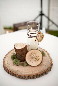 Wedding Trend: Rustic Wedding Centerpieces