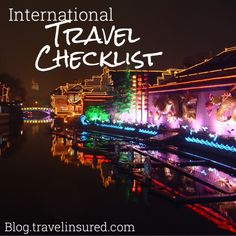 Here are the top 10 things to consider before you embark on your next adventure abroad! www.travelinsured.com