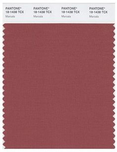 Has just been declared as The color of the year 2015   Pantone Marsala 18-1438