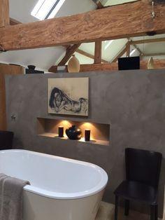 Fresco lime paint by Pure & Original Credits West Barn Interior Color Drift Bathroom Paint Design, Bathroom Layout, Bathroom Colors, Bathroom Shelf Decor, Diy Bathroom Vanity, Minimalist Bathroom Design, Minimalist Home, Contemporary Bathrooms, Modern Bathroom