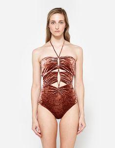 Ladies Low Back One Piece Swimsuit Celina 1 PC