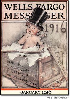 Wells Fargo Archives, 1916...