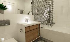 łazienki w stylu skandynawskim - Łazienka, styl skandynawski - zdjęcie od Grafika i Projekt architektura wnętrz