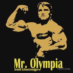 Arnold Schwarzenegger Mr. Olympia