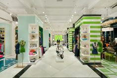 Shelves in units - C Wonder store by Pompei AD New York
