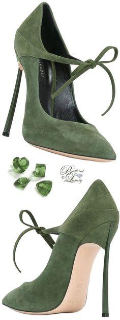Trendy High Heels For Ladies : Brilliant Luxury by Emmy DE ♦ Casadei Lace-Up Pumps Hot Shoes, Women's Shoes, Me Too Shoes, Shoe Boots, Pump Shoes, Dream Shoes, Crazy Shoes, Pretty Shoes, Beautiful Shoes