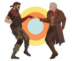 Snake Metal Gear, Metal Gear Solid, Revolver Ocelot, Mgs V, Gear Art, Fandoms, Gears, Video Games, Religion