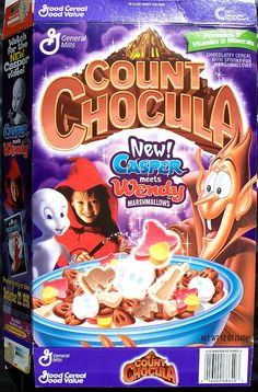 Count Chocula - Casper movie promotion