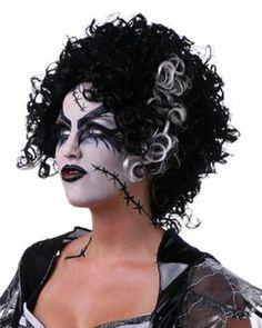 Monster Bride Costume Wig