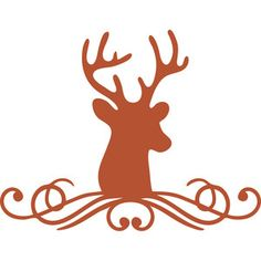 Silhouette Design Store - View Design #162670: buck flourish