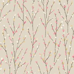 Albany Willow Beige Wallpaper main image