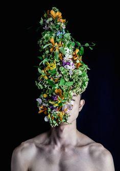 Botanical Headdresses by Takaya-6
