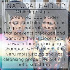 Natural hair tip www.addisonrenee.com